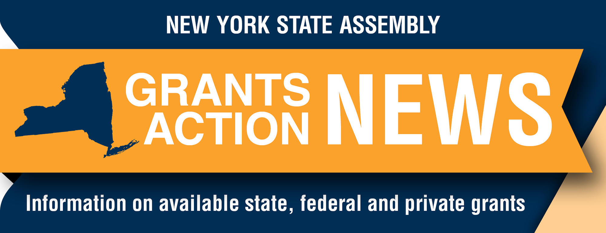 Grants Action News - Blue/Orange Large Size 2000x771