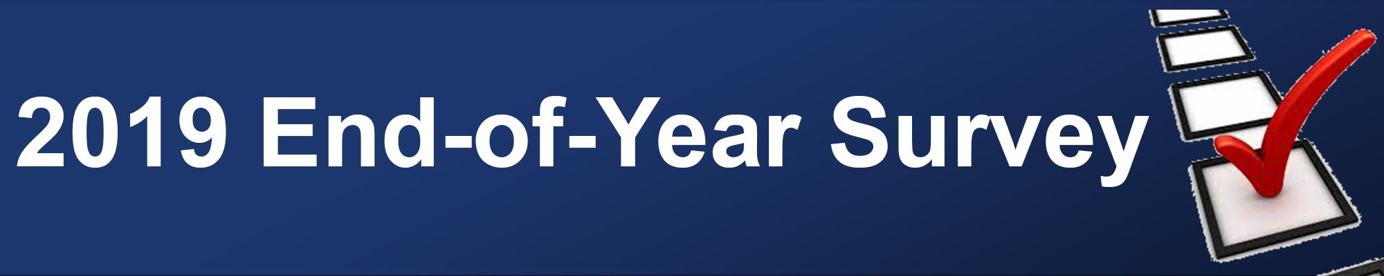 2019 End of the Year Survey
