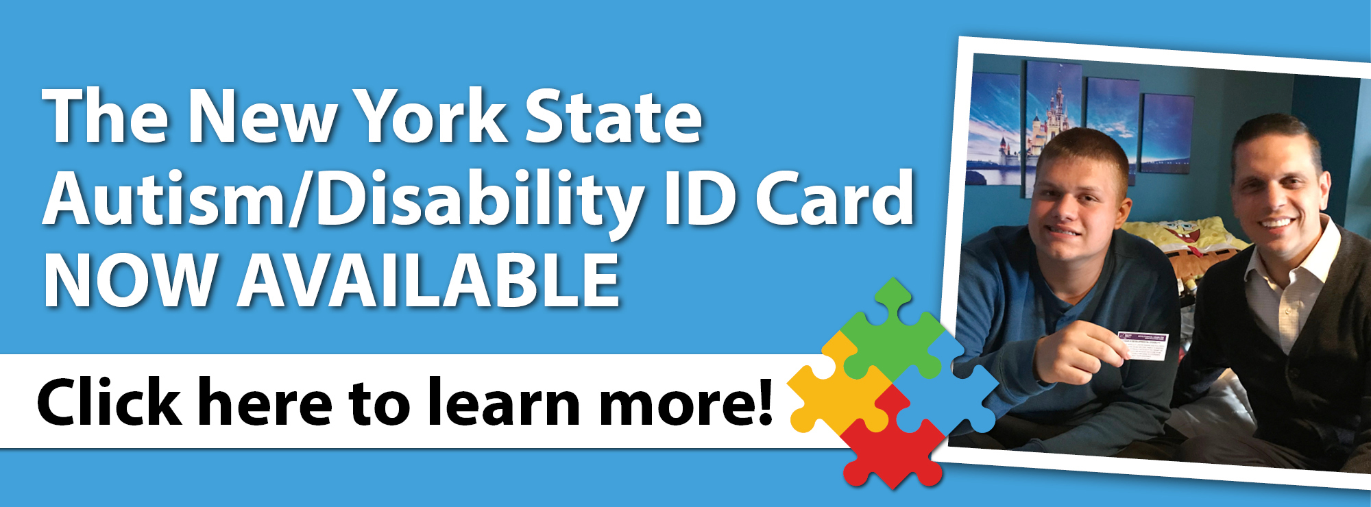 The New York State Autism/Disability ID Card