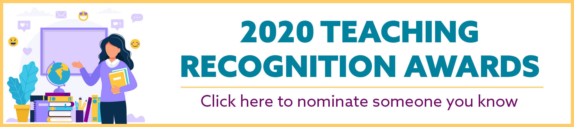 2020 Teaching Recognition Awards