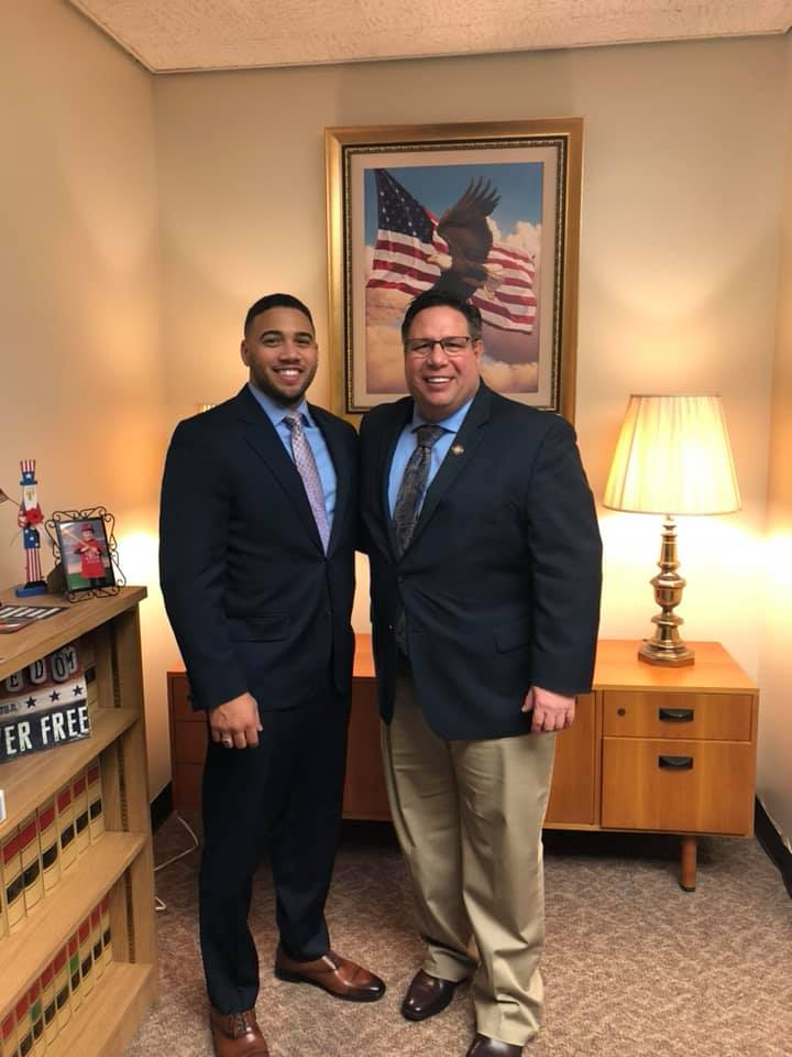 Assemblyman Brian Manktelow (R,C,I,Ref – Lyons) would like to introduce his intern for the 2020 Legislative Session. Wilson Tejeda will be working with the Assemblyman from Albany.