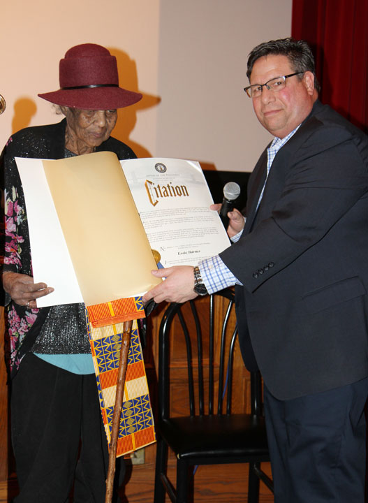 Assemblyman Manktelow Honored the Rev. Dr. Martin Luther King's Memory